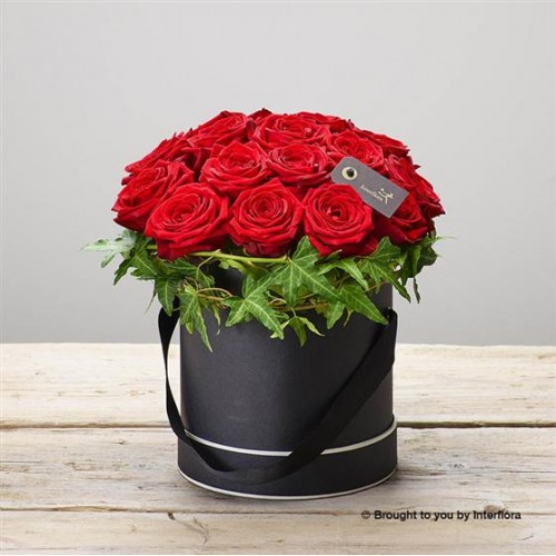 Crimson Rose Hatbox Large